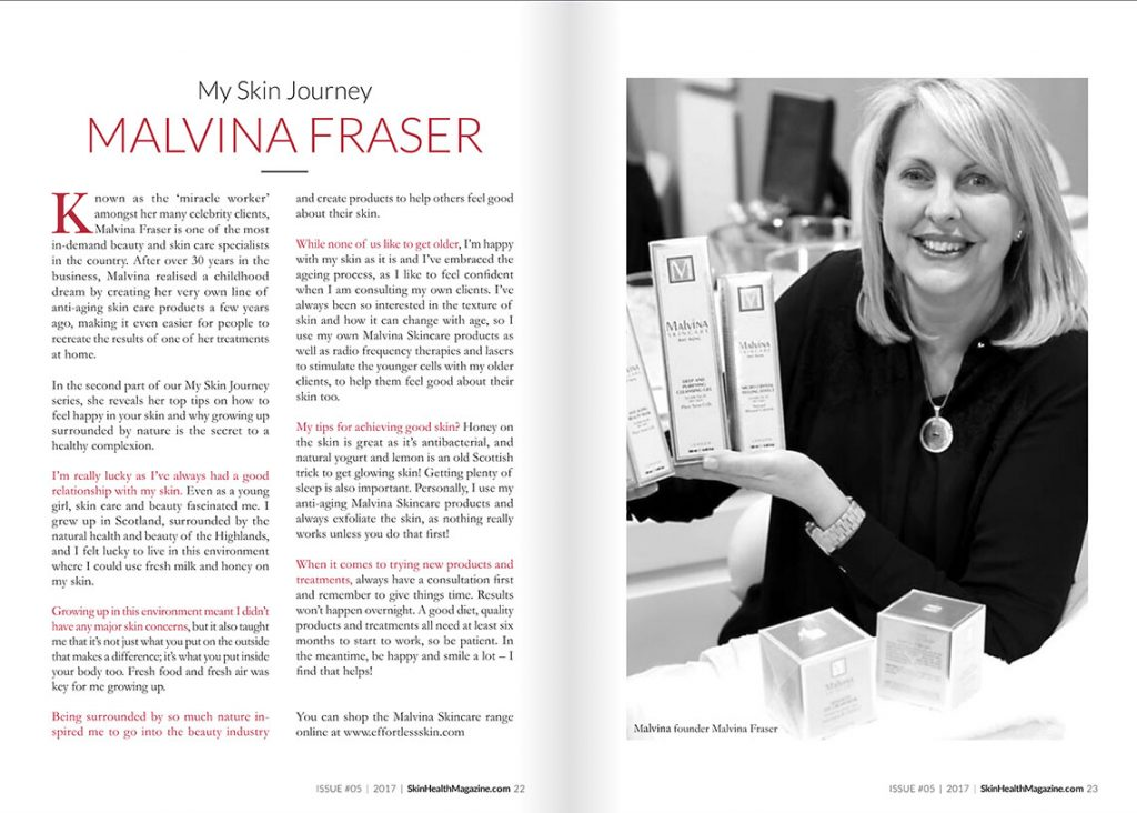 Malvina Fraser - My skin journey in Skin Health
